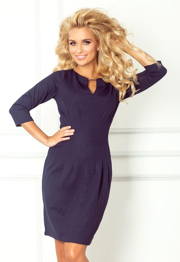 Elegantní pouzdrové šaty  804bff8890