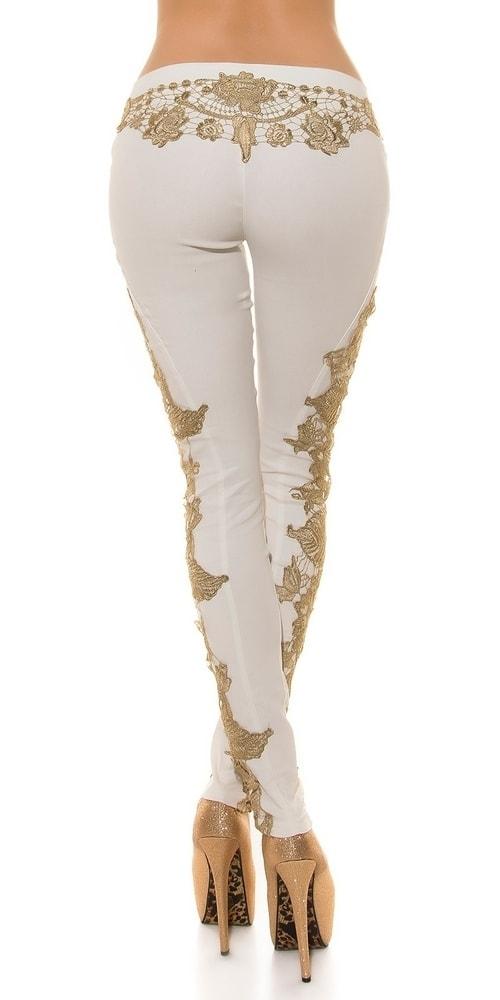 ... Dámské stylové kalhoty in-ka1156wh ... c303c6e67d