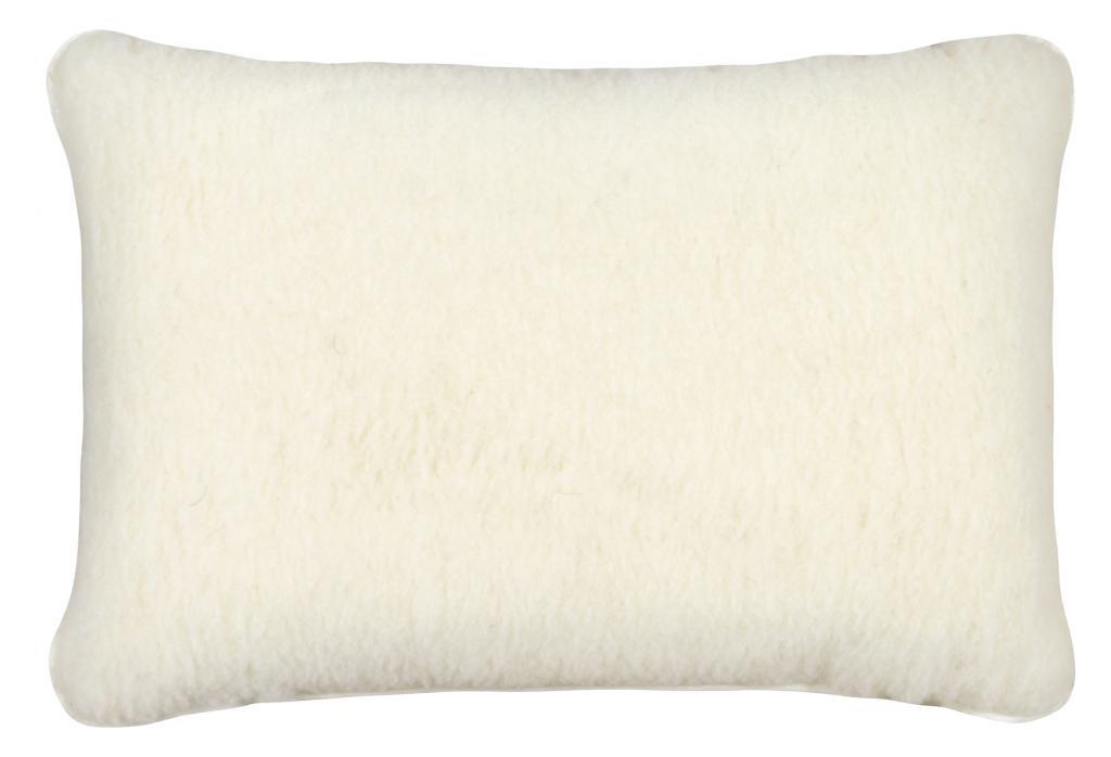 6119c4498ff Vlněný polštář 40x60cm bílý - australské merino POSLEDNÍ 2 KUSY
