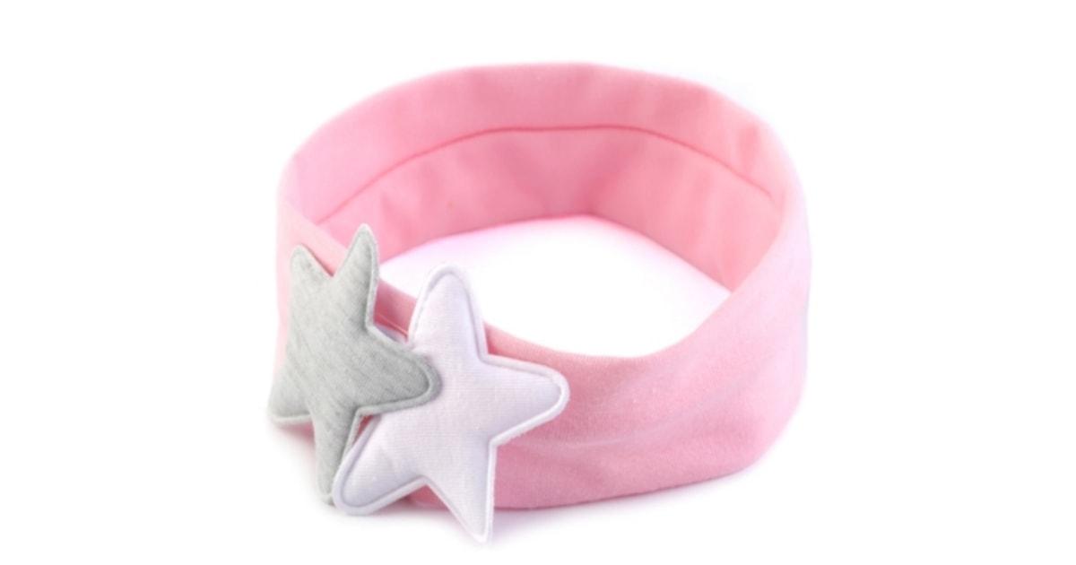 Dětská elastická čelenka s hvězdami  2cfd8cd0ee
