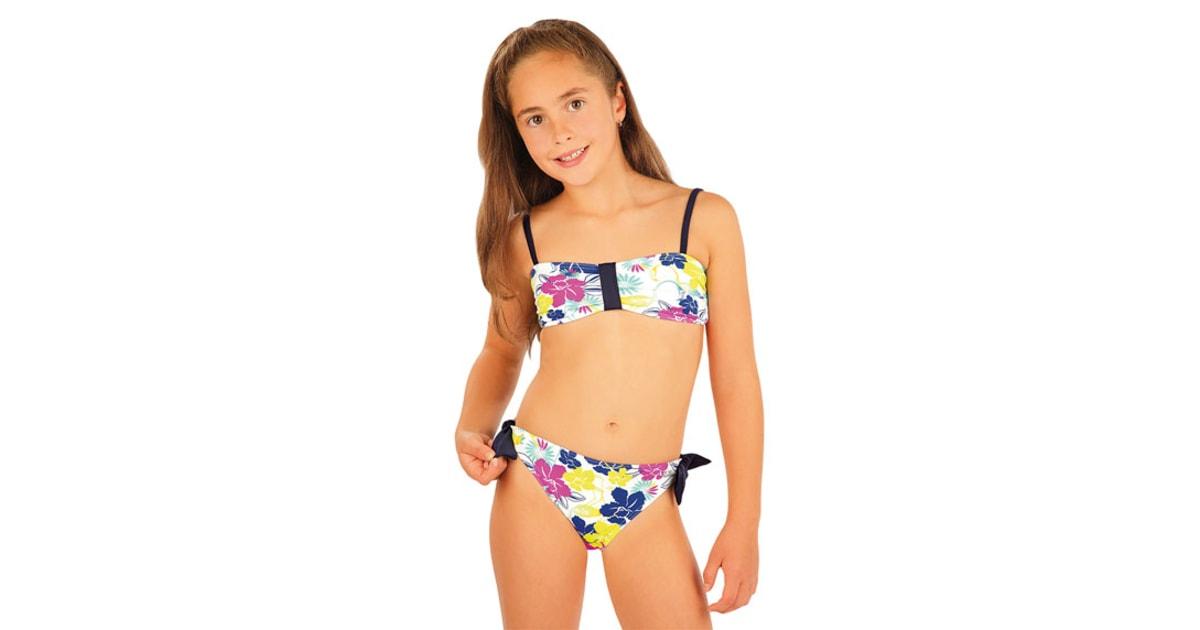 Dívčí plavky kalhotky bokové. 93543  f1f1bfa269
