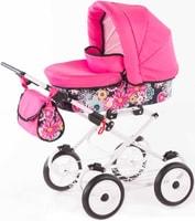 Kočárek dětský hluboký VIVA FLOWER pro panenku miminko