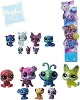 LPS Zvířátko Littlest Pet Shop s hvězdičkami kosmické set 7ks plast