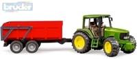 02057 (2057) Set traktor John Deere 6920 + sklápěcí valník červený
