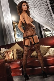 Bodystocking Catriona black