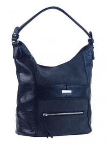 Elegantní kombinovaná dámská crossbody kabelka NH8023 modrá eea6385bacb