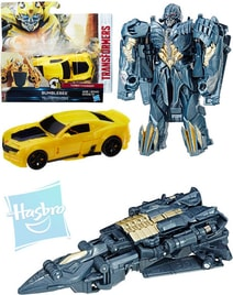 TRANSFORMERS MV5 Turbo Changers 1x transformace auto robot 2 druhy
