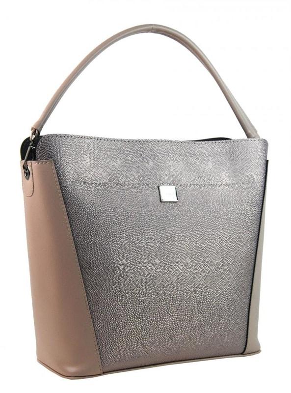 Růžovo-stříbrná brokátová elegantní dámská kabelka S691  8a09f711108