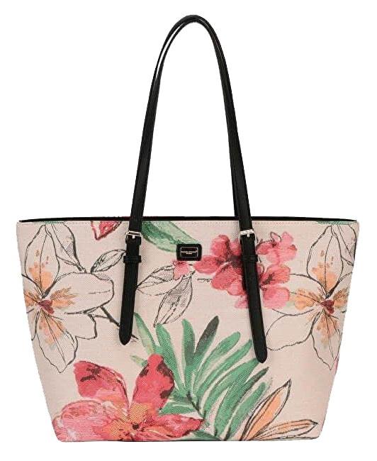 f565a677a1 Velká dámská kabelka s květy přes rameno David Jones