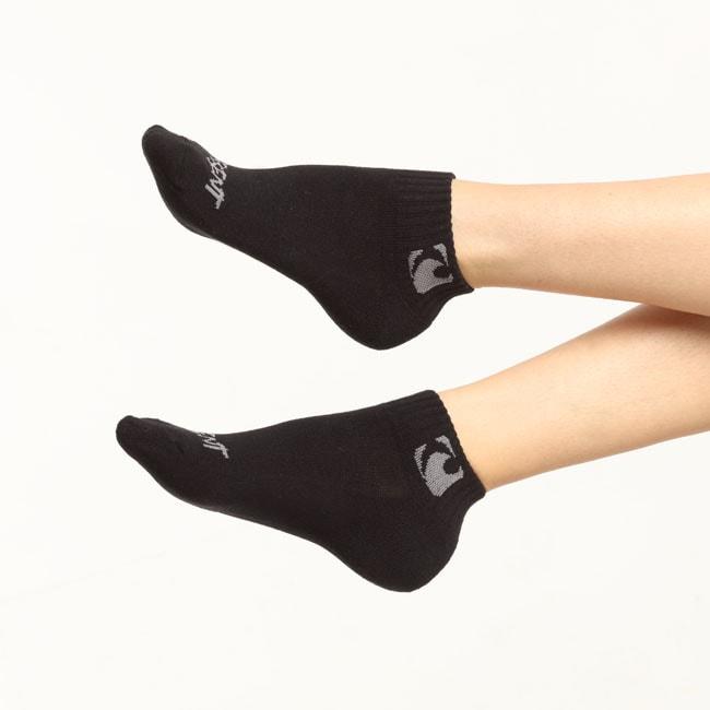 f6cb5fcaa4c Černé ponožky New Squarez Short CZ