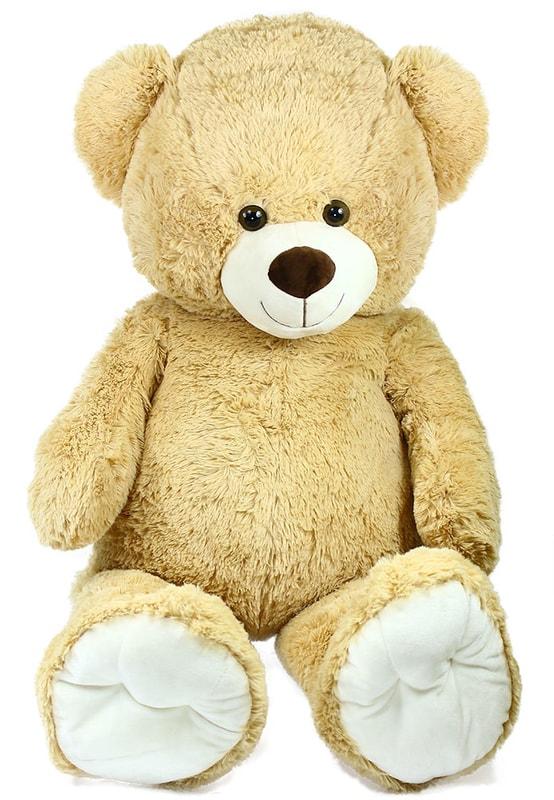 Plyšový medvěd 100 cm světlý
