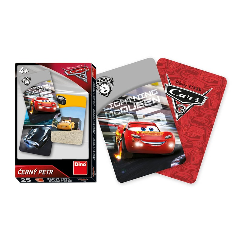 0904afd865 Karty Černý Petr - Cars 3