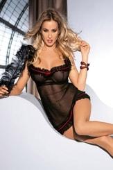Erotická košilka Lola black