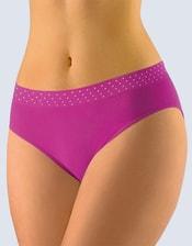 GINA dámské kalhotky klasické, širší bok, bezešvé 00034P