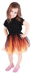 Sukně tutu oranžová