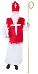 Karnevalový kostým mikuláš, dospělý