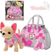 Chi Chi Love pejsek čivava v oblečku set s transportní taškou Camo Fashion