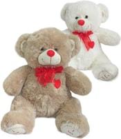 Medvěd se srdíčkem a mašličkou 40cm I love you