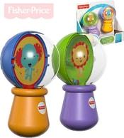 Baby Rumba koule set 1 pár chrastítko se zvířátky pro miminko plast