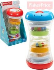 Baby věž s aktivitami zábavné chrastítko s kuličkami 3v1 pro mimink