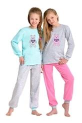 Dívčí pyžamo s obrázkem medvídka