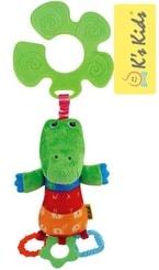 Krokodýl KrokoBloko Textilní S úchytem Na kočárek BABY