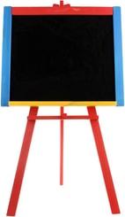 Tabule dětská kreslicí na křídy stojanová velká áčko barevná