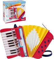 Harmonika dětská tahací 17 kláves s popruhem