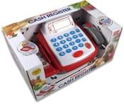 Pokladna registrační na baterie dětská kasa se scannerem plast Světlo Zvuk