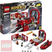SPEED Champions Ferrari FXX K a vývojové centrum 75882