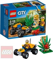 CITY Bugina do džungle 60156 STAVEBNICE