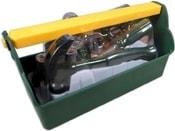 Souprava nářadí dětské plastové set malý kutil v přenosném boxu