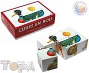 Kostky (kubus) 6 ks v krabičce BABY