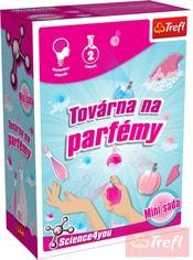 HRA Vědecká sada Výroba parfémů 2 pokusy Science 4 you mini v krabici