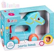 Baby Koník zvířátko na kolečkách plast pro miminko