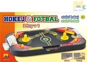 Hra Hokej a fotbal stolní kopaná 2v1