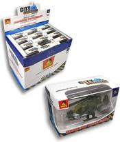 Auto City Collection Vojenská technika 12 druhů v krabičce