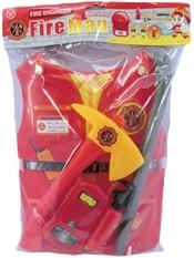 Malý záchranář dětská set 5ks vesta s nářadím a doplňky v sáčku plast