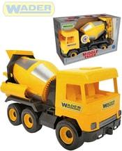 Middle Truck auto domíchávač betonu 38cm žluté plastové 32124