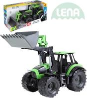 Traktor funkční se lžící 45cm Worxx 1:15 DeutzFahr Agrotron 7250 plast