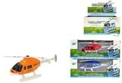 Vrtulník kovový 9,5 cm 3 barvy