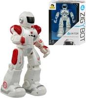 Robot Viktor interaktivní Zigybot 26cm IR ovládání pohybem ruky na baterie 2 barvy Zvuk
