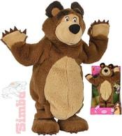 Medvěd Míša tančící 35cm na baterie Máša a medvěd Zvuk