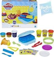 PLAY-DOH Modelína snídaňový set 6 kelímků s nástroji a doplňky