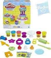 PLAY-DOH Modelína set na pečení 5 kelímků s nástroji a doplňky