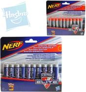 NERF N-Strike Elite náhradní šipky do pistole set 10ks na kartě 2 druhy