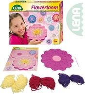 Stav pletací dětský plastový Květina set s vlnou a doplňky v krabici 42007