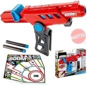 BOOMCo plastová pistole Rail Blast set 3 šipky a terč