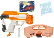 NERF N-Strike Pistole Modulus obranná výbava set se 2 šipkami a štítem