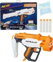 NERF Modulus Blaster set zbraň + 4 náboje 2 druhy plast